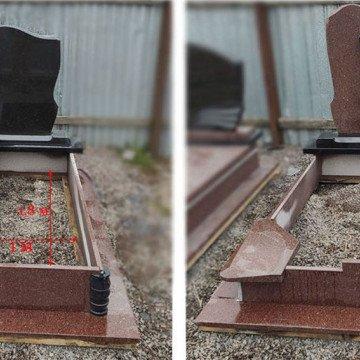 Підпоховання для гранітних пам'ятників: специфіка та вимоги
